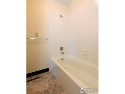 Bathtub between Master and Bedroom 2