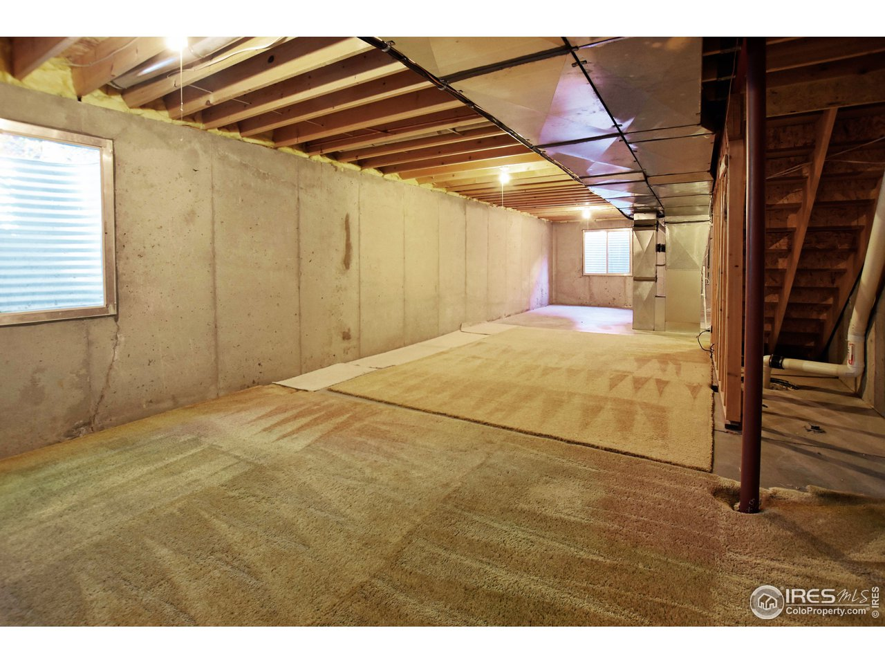 unfinished basement to expand