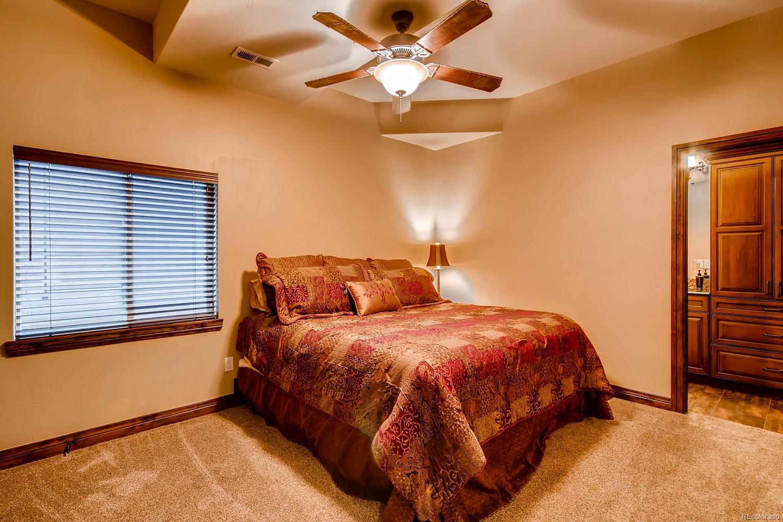 Bedroom on Lower Floor with Ensuite Bath