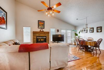 Wonderful open floor plan with vaulted ceilings on the main level