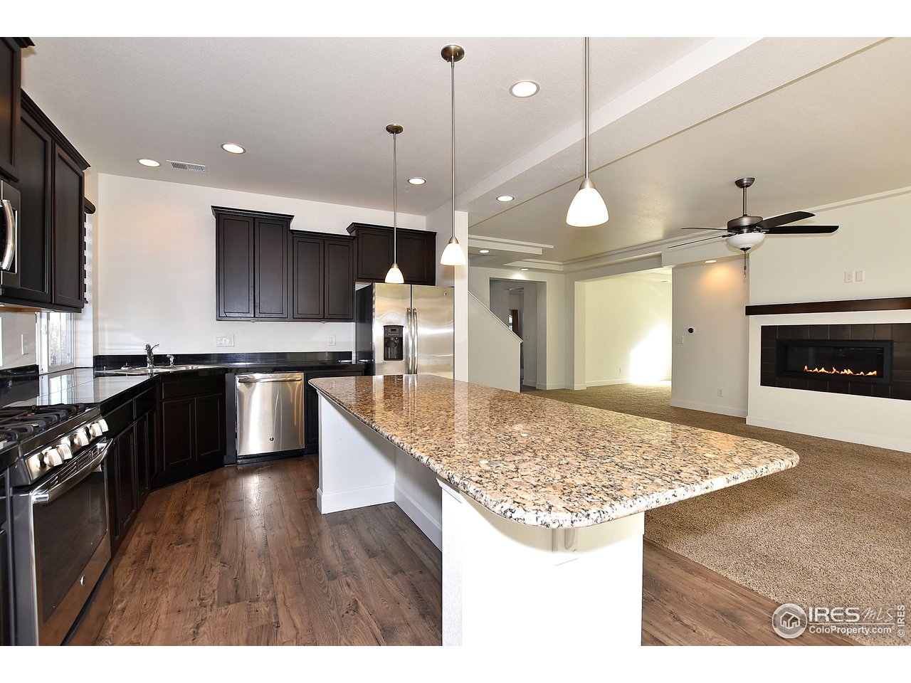 Spacious kitchen will allow entertaining for hours