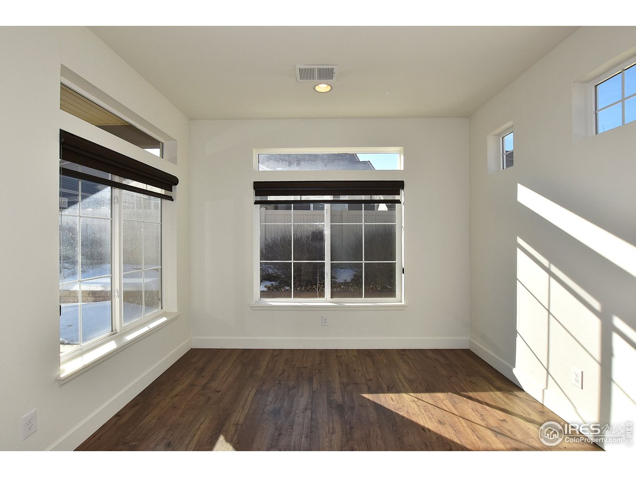 Main floor master suite has plenty of space