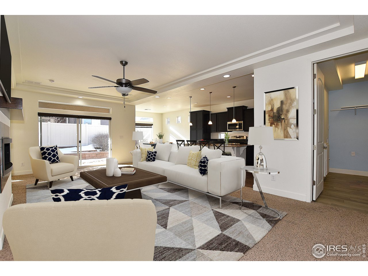 Main level and open concept living at it's finest!