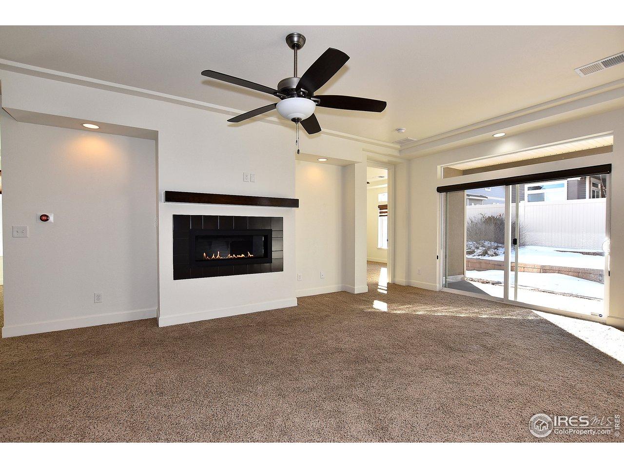 Great room and kitchen, wide open floor plan