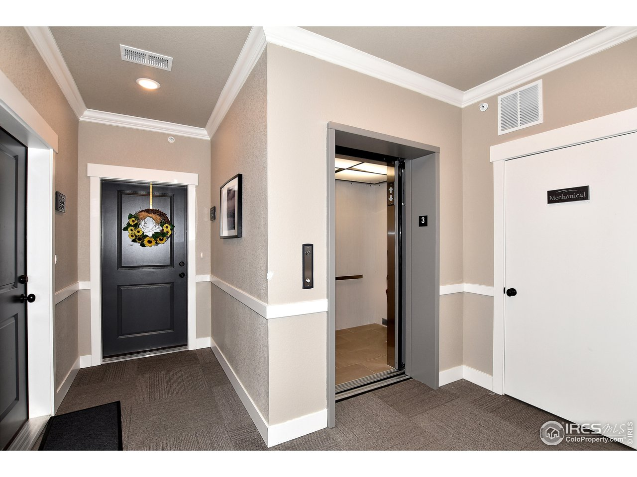 Elevator access for easy no stair living