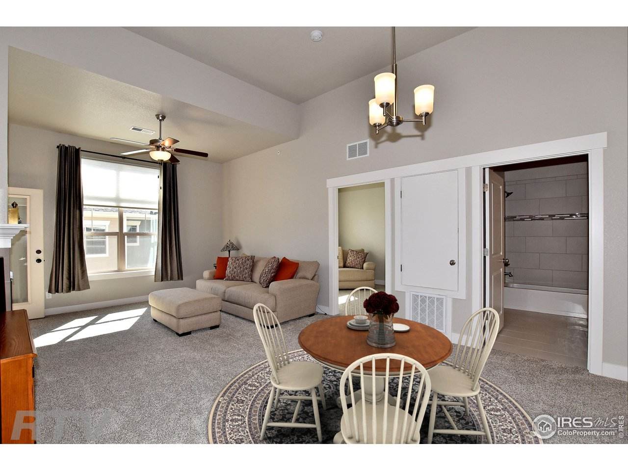 Expansive great room, dining room and kitchen!
