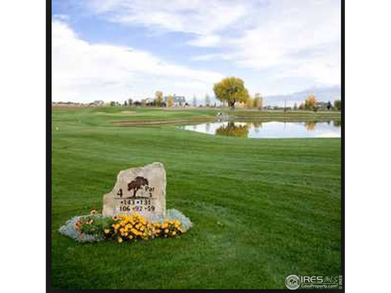 Step out your backdoor and onto the golf course. Many great East facing sights, foothills and skyline