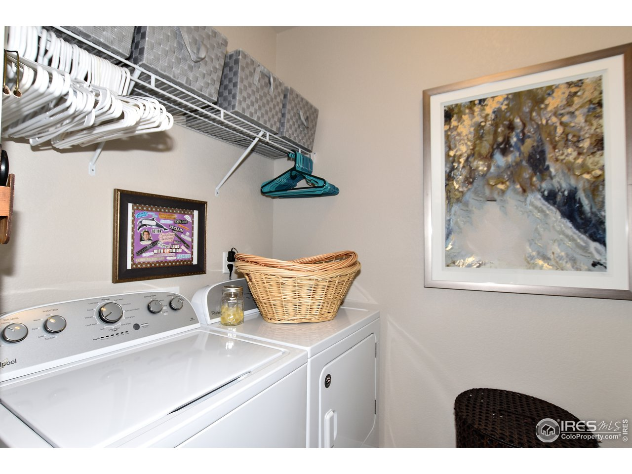 Oversized laundry in unit includes washer/dryer! Unit has tankless water heater also!