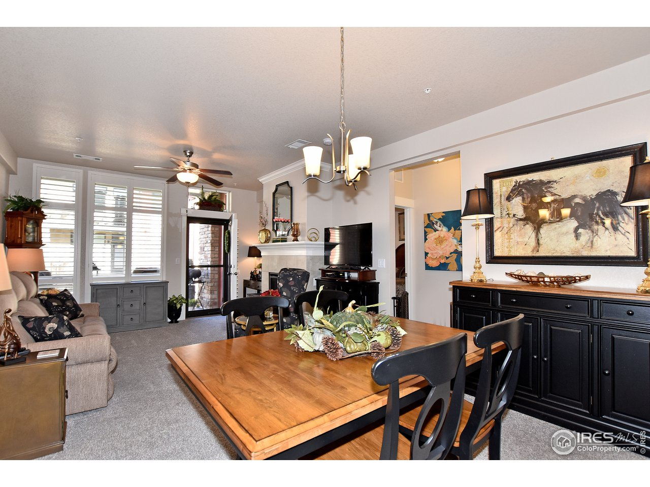 Dining room leads right into great room to entertain for hours!