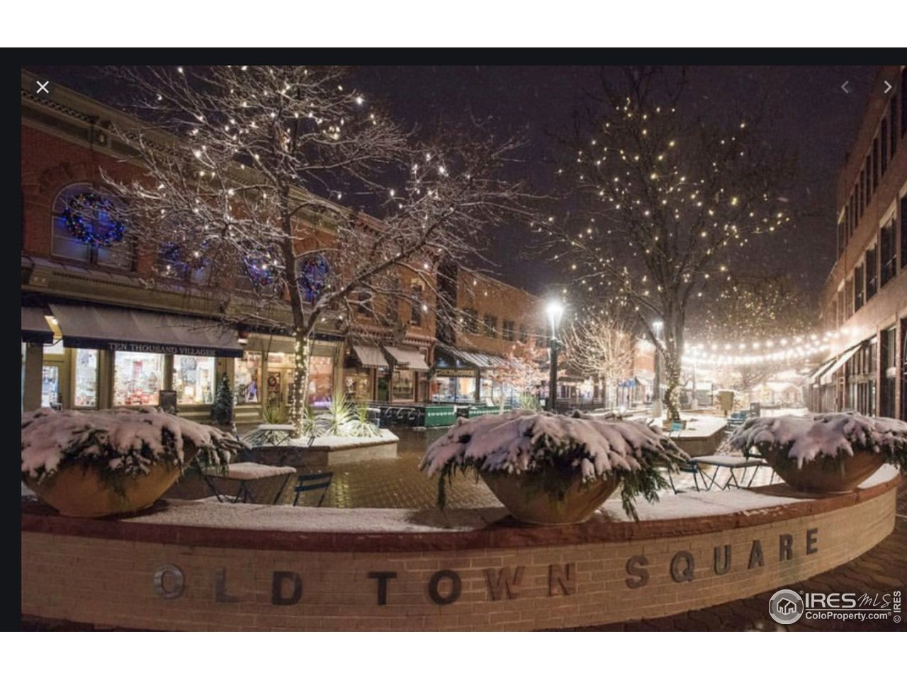 Minutes from old town Fort Collins to enjoy those holiday lights and summer concerts