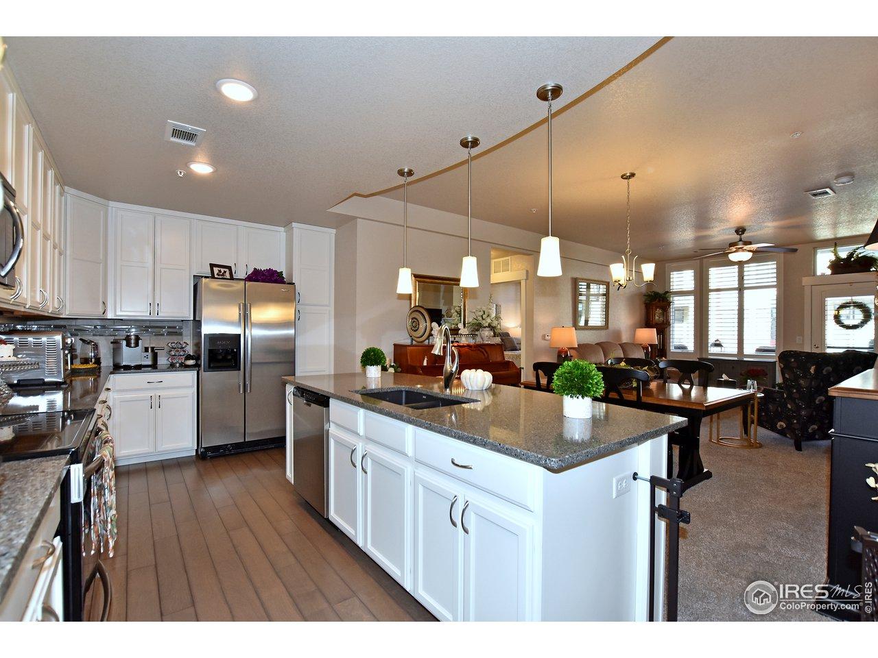 Stunning kitchen and spacious on this Landmark built Harvard floorplan.