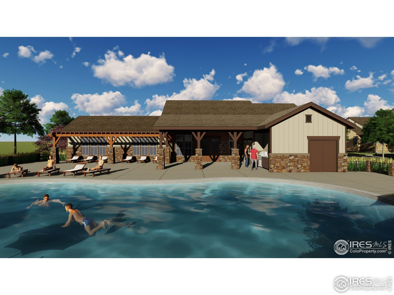 New clubhouse and hot tubs coming summer of 2021!