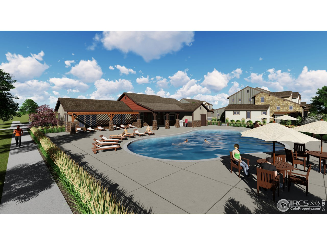 NEW Clubhouse opening summer 2021 w/ hot tubs, rec space, and gym area! Steps from your new home!