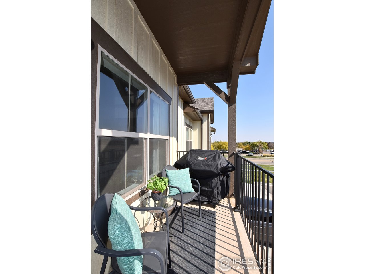 Enjoy the scenic city and golf course views from your lovely 2nd floor balcony off of great room