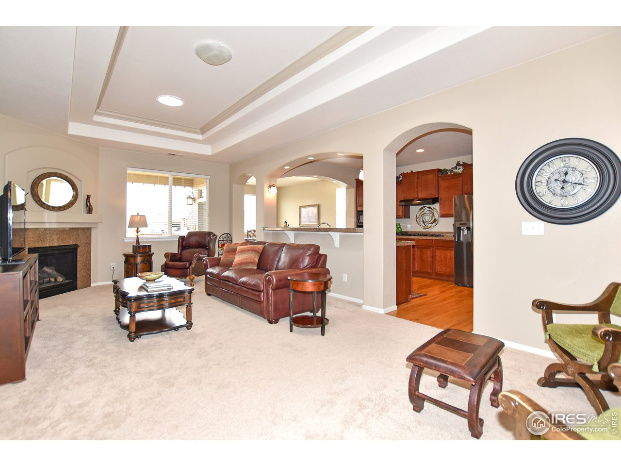 Spacious and open great room upon entry