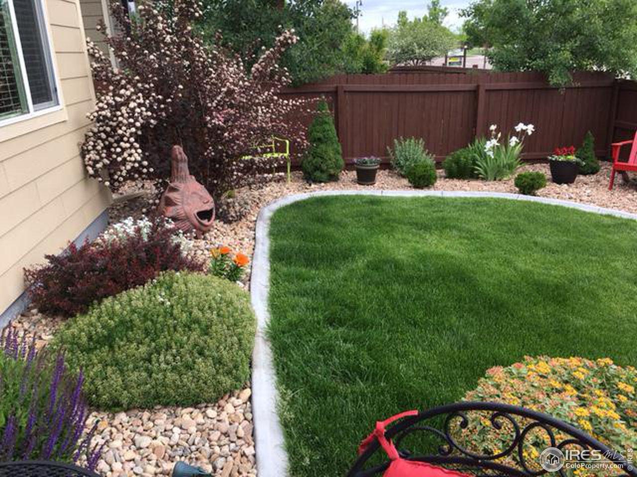 Look at this perennial garden!