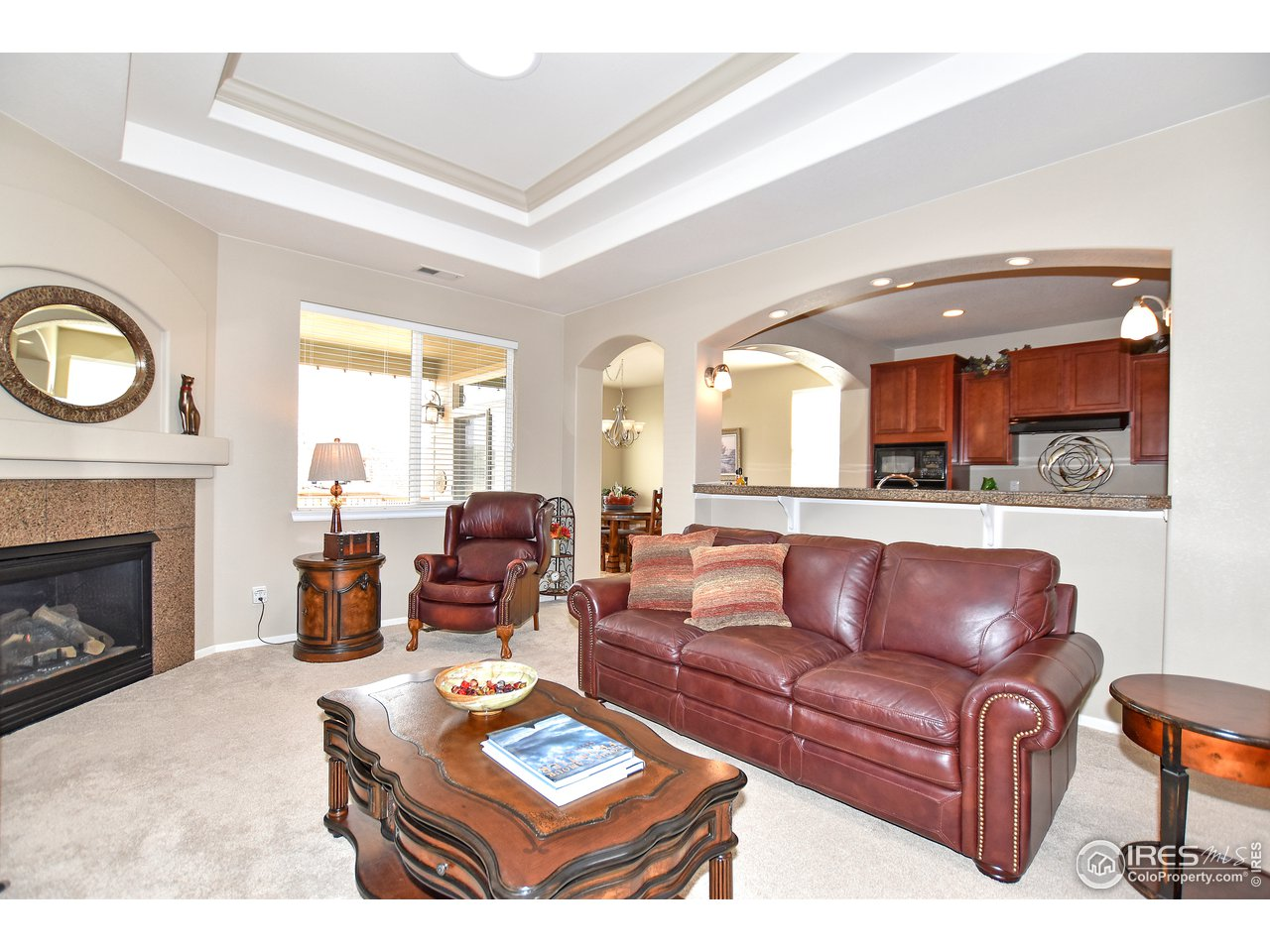 Open and bright floor plan w/ ADA features as well