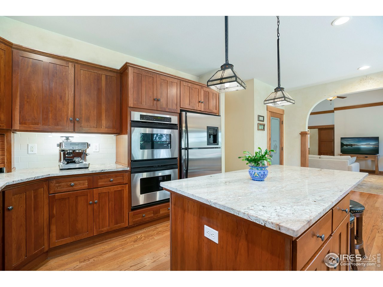 Plenty of counter space and double ovens!