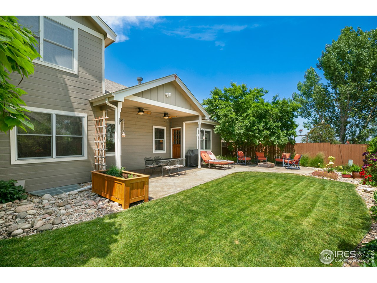 Lovely manicured mature landscaping throughout entire property