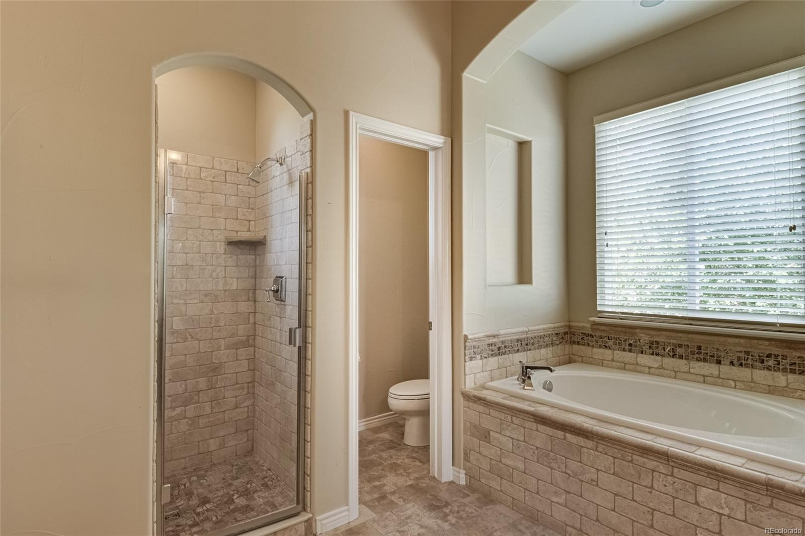 Five piece master bath