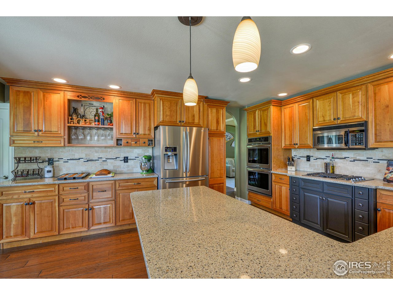 Bakers dream kitchen with ample counter space