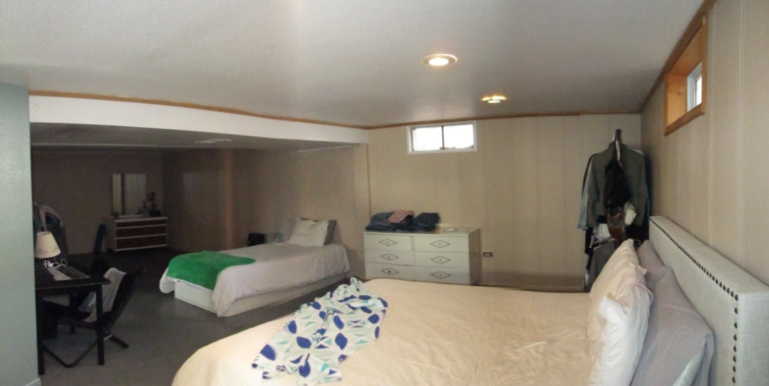 Family Room or large bedroom