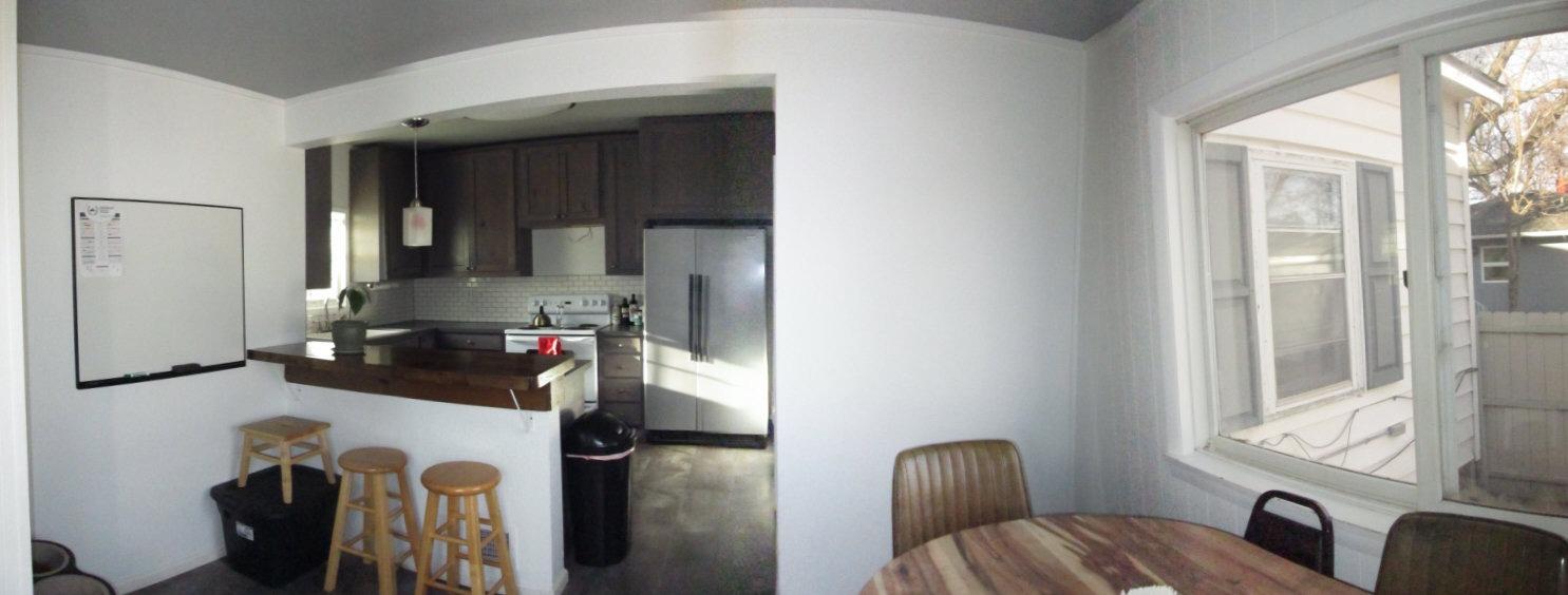 Kichen includes appliances