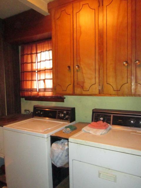 Main floor laundry area