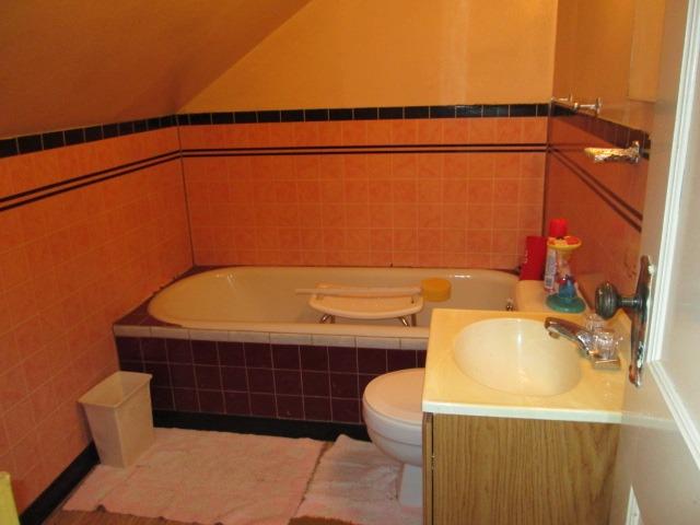 3/4 Bath Upstairs