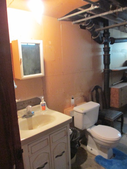 Half Bath Basement