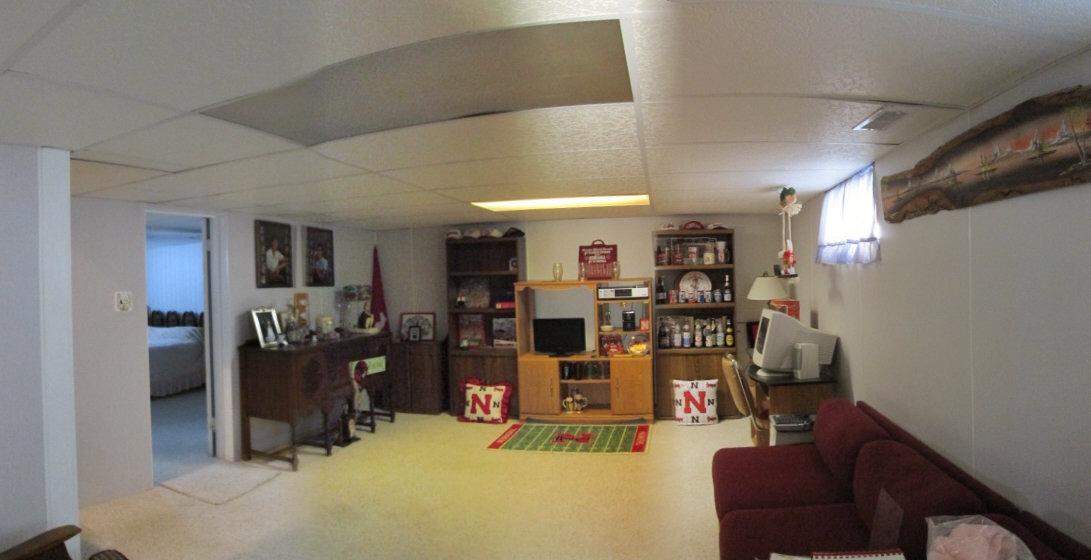 Family Room Basement