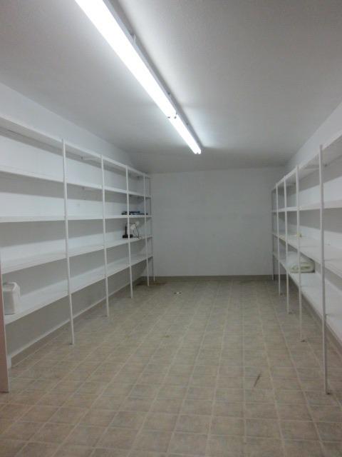 Lots of Storage w/shelving