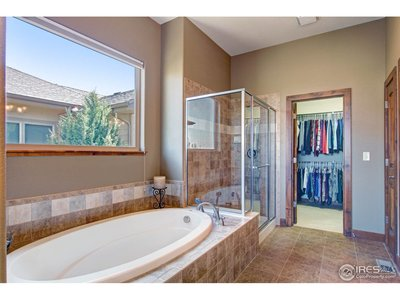 Oversized, deep soaking tub