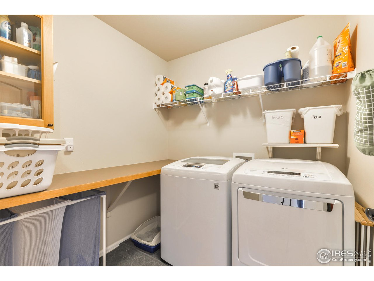 Upper level laundry room - no stairs with laundry!