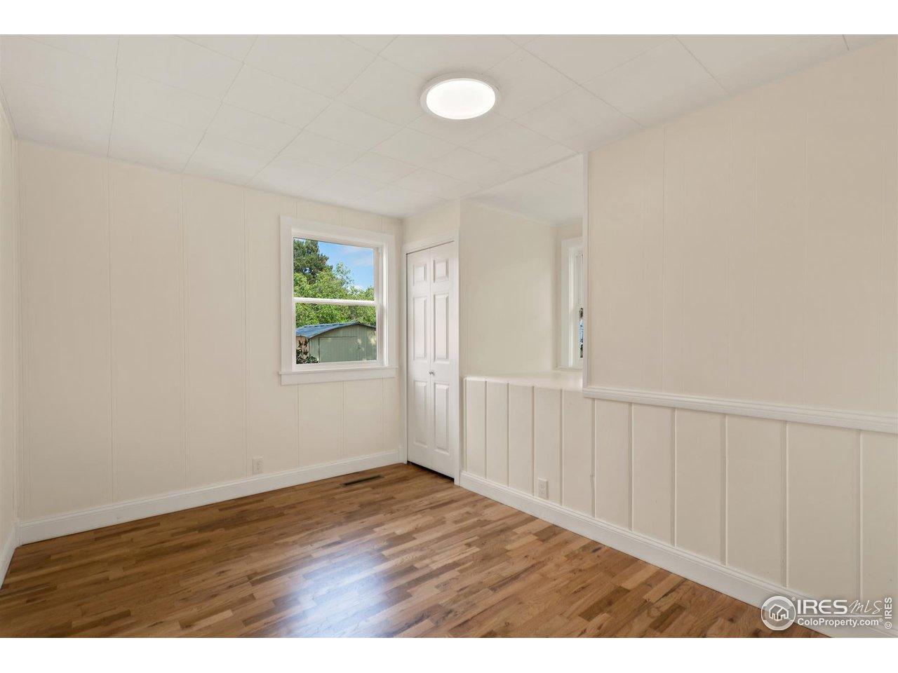 Bedroom 2 with window nook