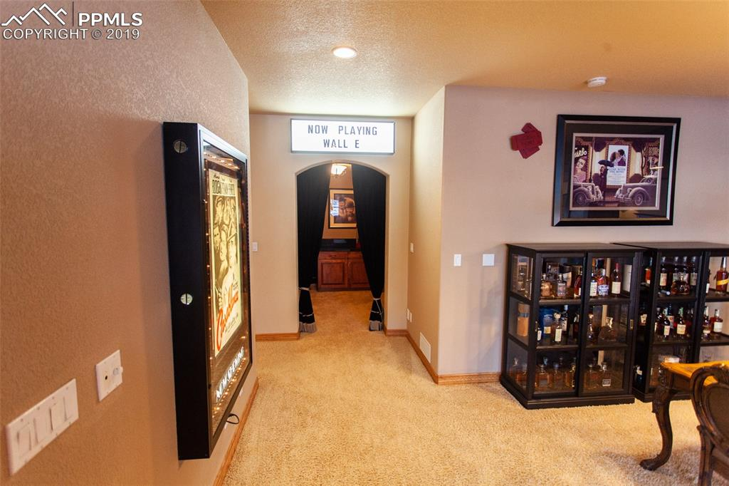 Entry into home theater