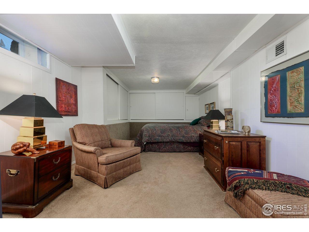 5th bedroom, basement