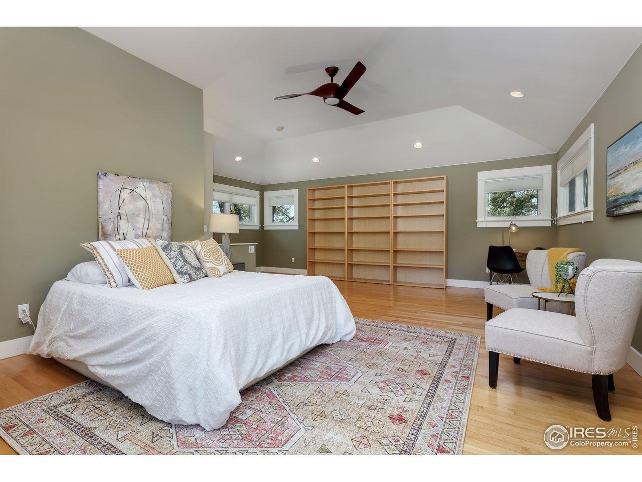 Bedroom #1, upper level
