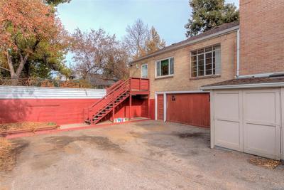 Garage sits below the main level.