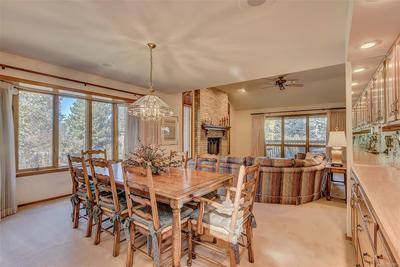 Dining room, open to family room
