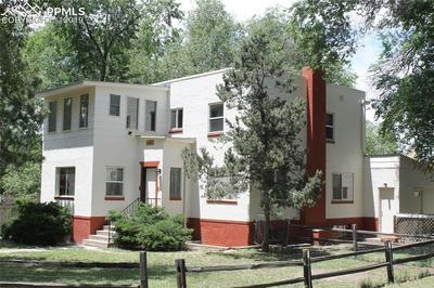 Large R5 property zoned for multiple uses on over 12,000 sq. ft. corner lot.
