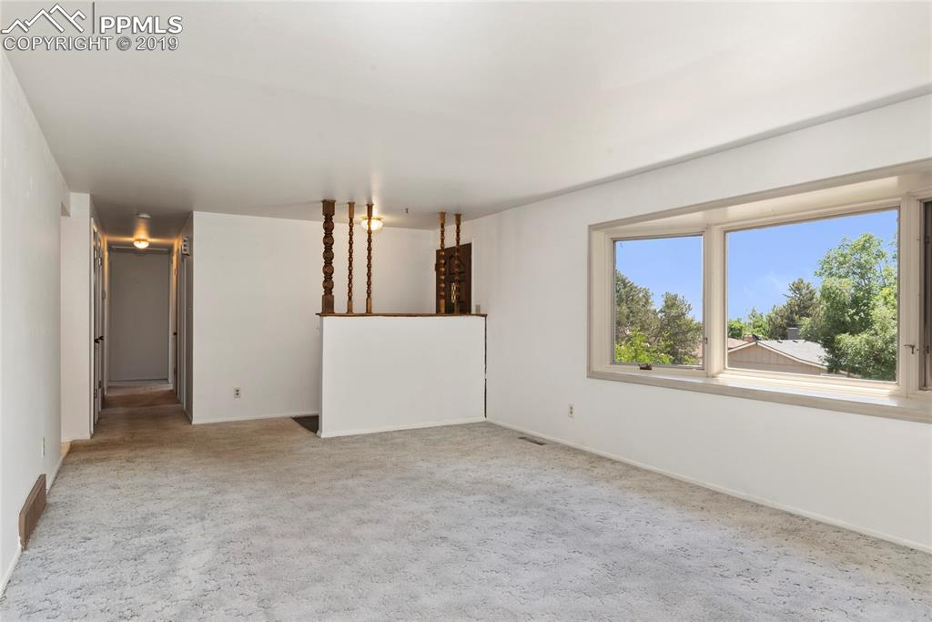 Large bay window lets in lots of natural light!