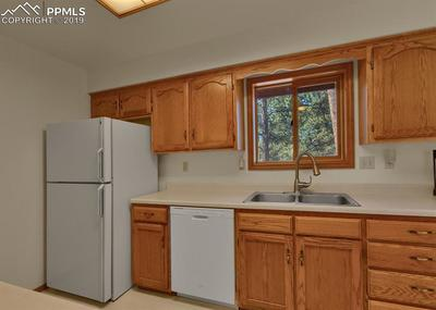 Kitchen with ample storage and all appliances