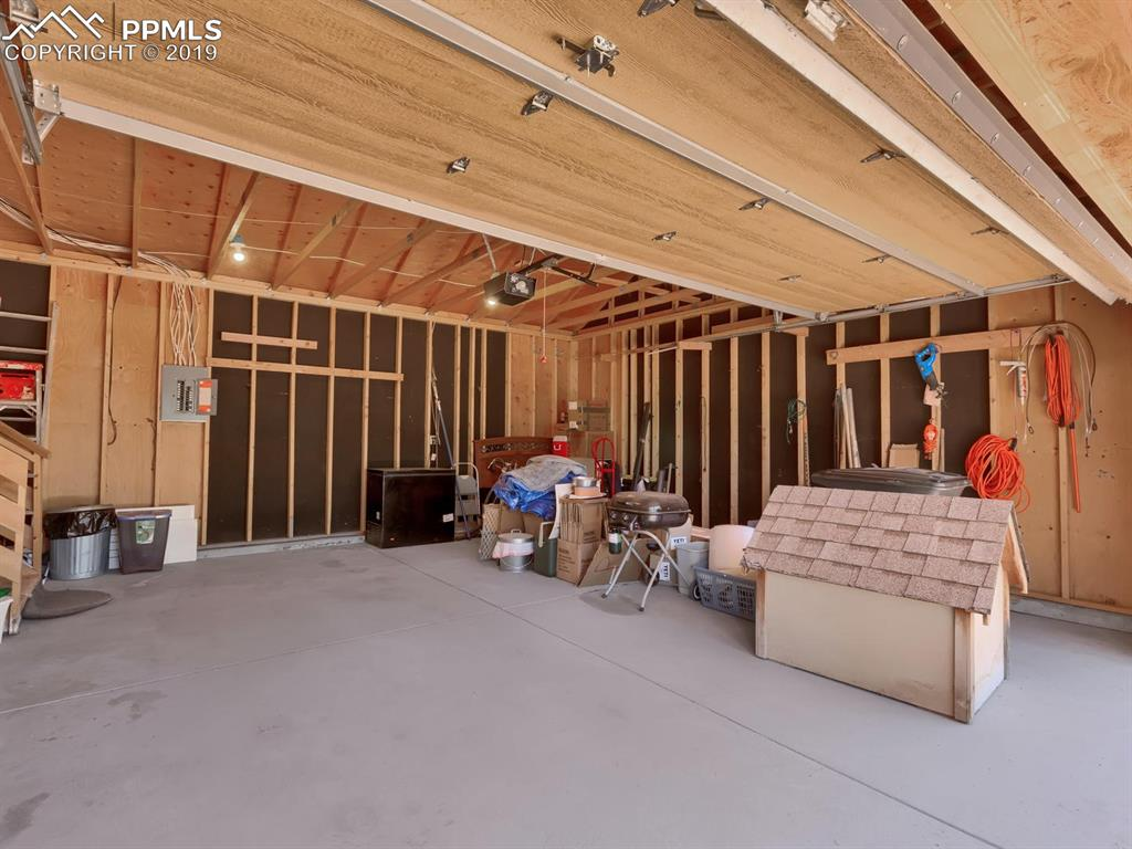 LARGE 2 car attached garage