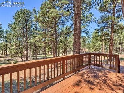 Decks facing backyard . Natural terre is low maintenance !