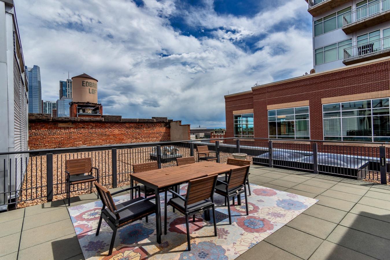 Common Rooftop Patio