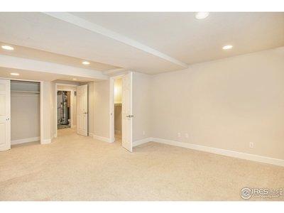 Basement Bedroom/Rec Space