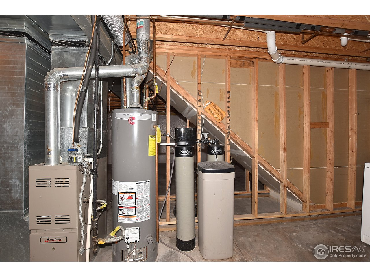 Furnace, A/C, New water filter