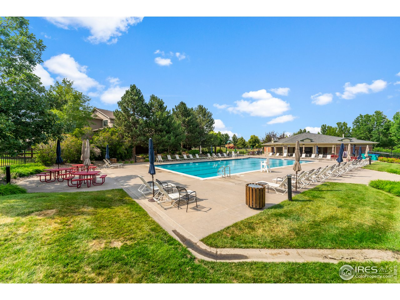 Nearby pool included with HOA