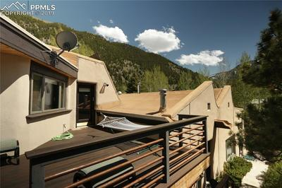 Mountain views from deck
